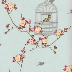 Au-Maison-WACHSTUCH-Birdcage-tuerkis